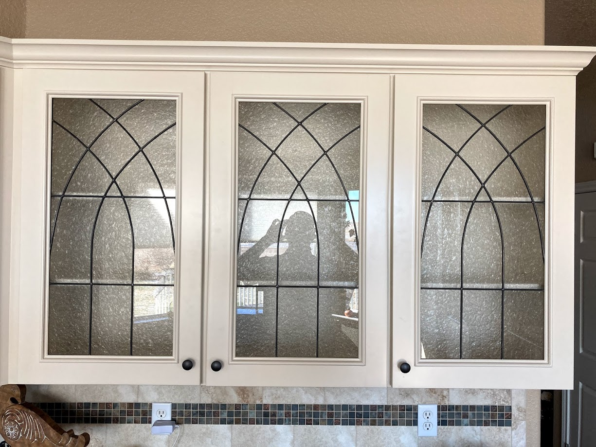 Denver Cabinet Stained Glass