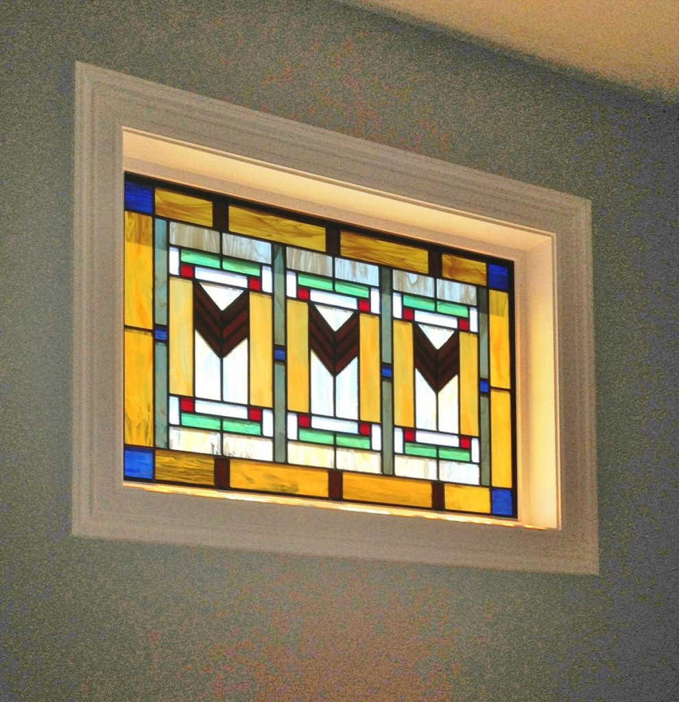 Scottish Stained Glass Art-deco-stained-glass
