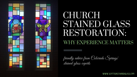 Colorado Springs church stained glass restoration