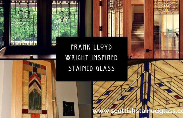 Frank lloyd wright inspired stained glass is a perfect for Frank lloyd wright craftsman style