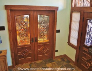 colorado springs entryways scottish stained glass custom