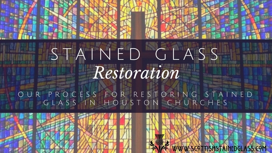stained glass restoration houston