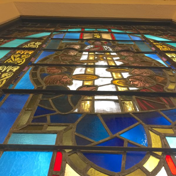 austin religious stained glass repair