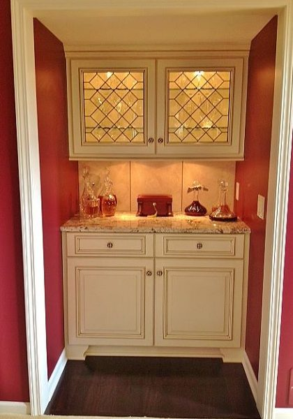 cabinet doors stained glass