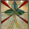 Custom Kitchen Stained Glass Pantry Denver