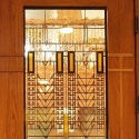 Custom Prairie Stained Glass Doors Denver