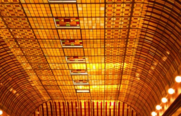 hotel stained glass colorado springs