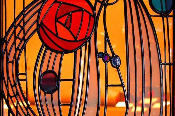 mackintosh stained glass
