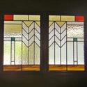 Prairie Style Door Glass