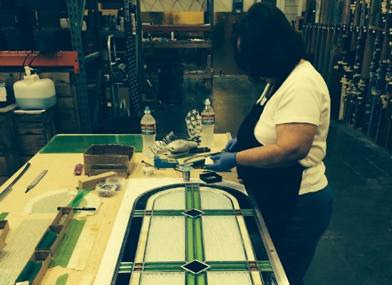 church stained glass restoration austin