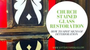 san antonio church stained glass restoration