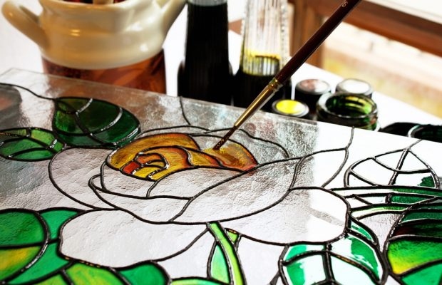 stained glass artist