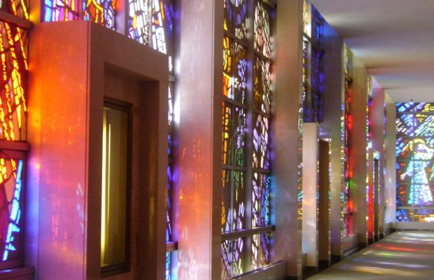 worlds largest stained glass window